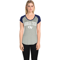 Alta Gracia Colorblock V Neck Featherfeel T Shirt