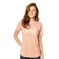 Red Shirt Scallop T Shirt
