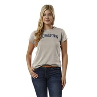 Womens Short Sleeve Respin Crewneck T Shirt