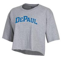 Champion Womens Boyfriend Crop T Shirt
