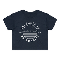 Womens Everyday Cropped Tee