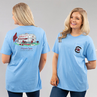 Team LJ Womens Short Sleeve Pocket T Shirt