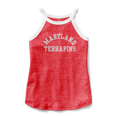 7285c85e54f1 League Phys Ed High Neck Tank Top | The University of Maryland Bookstore -  College Park