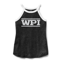 League Phys Ed High Neck Tank Top