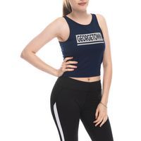 Fourth down crop top