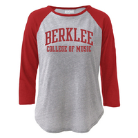 Red Shirt Raglan Tee