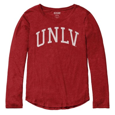 Red Shirt Long Sleeve T Shirt