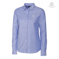 Cutter & Buck Ladies Long Sleeve Stretch Oxford