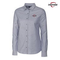 Cutter & Buck Ladies Long Sleeve Stretch Oxford (Online Only)
