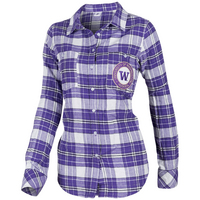 Washington U WU Flannel