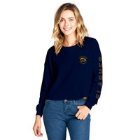 Spirit Jersey Cropped Slouchy Thermal Top