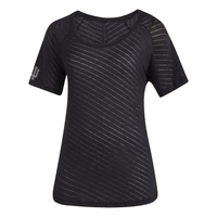 Adidas Womens ZNE V Neck T Shirt