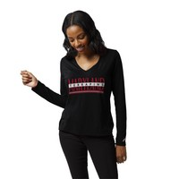 League Respin Long Sleeve V Neck