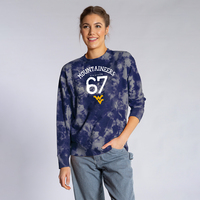 Team LJ Womens Tie Dye Long Sleeve T Shirt