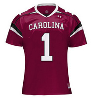 South Carolina Gamecocks Under Armour Women's Football Jersey