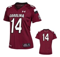 New 2013 South Carolina Womens Under Armour Replica Football Jersey
