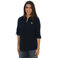 UG Apparel Relaxed Fit Classic Button Down Tunic