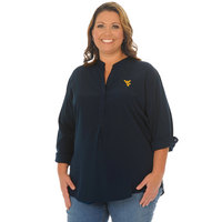 UG Apparel Plus Size Classic Button Down Tunic