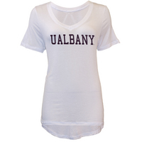 U Trau Womens Valerie V Neck T Shirt
