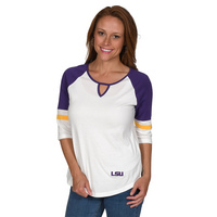 UG Apparel Missy Baseball Trim Top