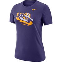 Womens Nike Short Sleeve Logo Crew Tee