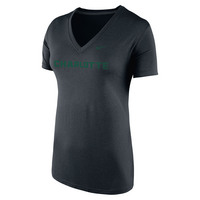 Nike Dri Fit V Neck T Shirt