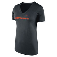 Nike Womens Vneck Short Sleeve Tee