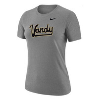 Nike Womens DriFit Cotton Short Sleeve T Shirt