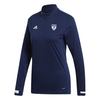 Adidas Team 19 Long Sleeve Quater Zip