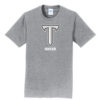 Soccer Short Sleeve Crewneck Womens Tee (Online Only)