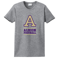 Albion College Football Short Sleeve Crew Neck Tee