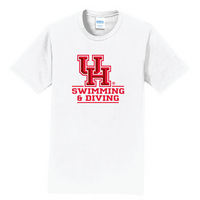 Swimming Short Sleeve Crewneck Womens Tee (Online Only)