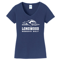 Womens Golf Short Sleeve Vneck Womens Tee (Online Only)