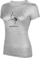 ProSphere Baseball Womens TriBlend Distressed Tee