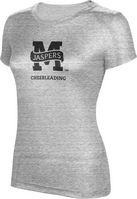 ProSphere Cheerleading Womens TriBlend Distressed Tee