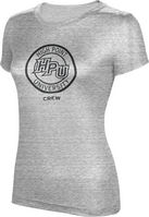 ProSphere Crew Womens TriBlend Distressed Tee