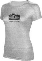 ProSphere Cross Country Womens TriBlend Distressed Tee