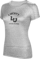 ProSphere Figure Skating Womens TriBlend Distressed Tee