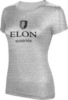 ProSphere Quidditch Womens TriBlend Distressed Tee