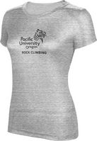 ProSphere Rock Climbing Womens TriBlend Distressed Tee