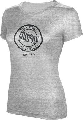 ProSphere Skiing Womens TriBlend Distressed Tee
