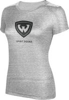 ProSphere Spirit Squad Womens TriBlend Distressed Tee