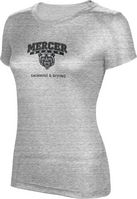 ProSphere Swimming & Diving Womens TriBlend Distressed Tee