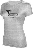 ProSphere Tennis Womens TriBlend Distressed Tee