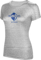 ProSphere Ultimate Womens TriBlend Distressed Tee