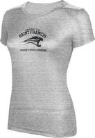 ProSphere Womens Cross Country Womens TriBlend Distressed Tee