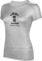Womens Golf ProSphere Womens TriBlend Tee (Online Only)