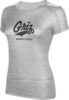 ProSphere Womens Golf Womens TriBlend Distressed Tee
