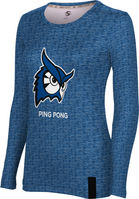 ProSphere Ping Pong Womens Long Sleeve Tee