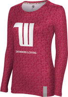 ProSphere Swimming & Diving Womens Long Sleeve Tee